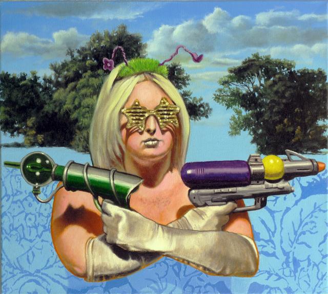 , 'Untitled 007 (Alien),' 2014, Benjaman Gallery Group