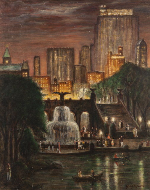 , 'Radio City from Central Park,' 1938, ACA Galleries