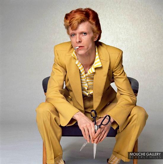 , 'David Bowie, Scissors,' , Mouche Gallery
