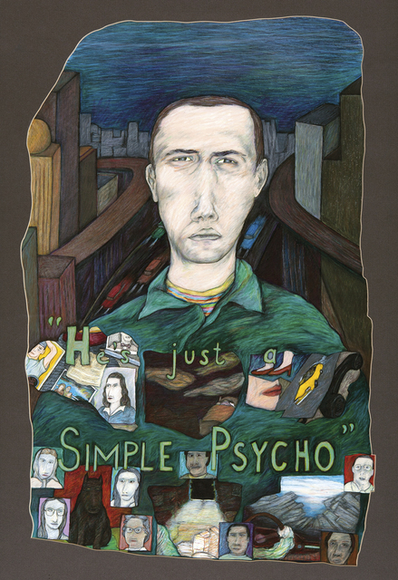 , 'He's Just a Simple Psycho,' , John Molloy Gallery