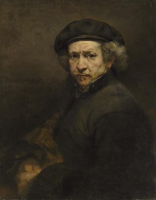 Rembrandt van Rijn, 'Self Portrait, 1659', 1659, National Gallery of Art, Washington, D.C.
