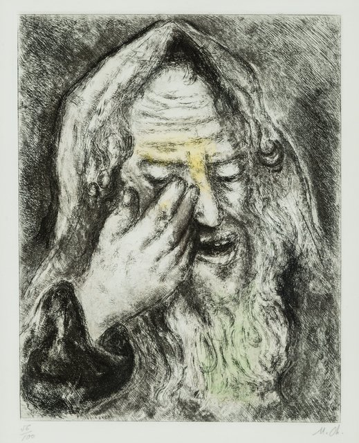 Marc Chagall, 'The Lamentations of Jeremiah, from The Bible series', 1931-39, Heritage Auctions