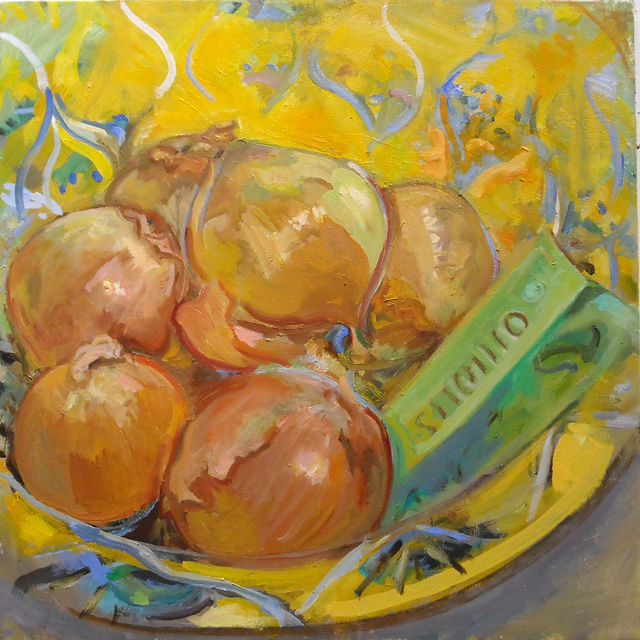 , 'Spring Onions,' 2018, BCK Fine Arts Gallery at Montauk