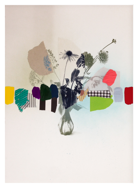 , 'Paper Bouquet (stripes and gingham),' 2017, Newzones