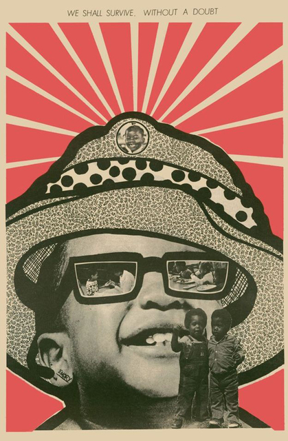 Signed by Emory Douglas Our People/'s Army Limited Edition Art Print