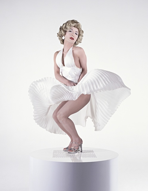 Yasumasa Morimura 森村 泰昌, 'Self-Portrait: White Marilyn 2', 1996, Photography, Photography, Giampaolo Abbondio