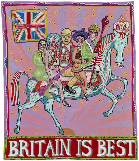 , 'Britain is Best,' 2016, Castlegate House Gallery