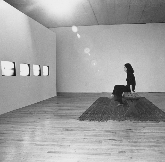 Beryl Korot, 'Dachau 1974', 1974, Video/Film/Animation, Four channel video, black and white, with pictographic video notation, bitforms gallery