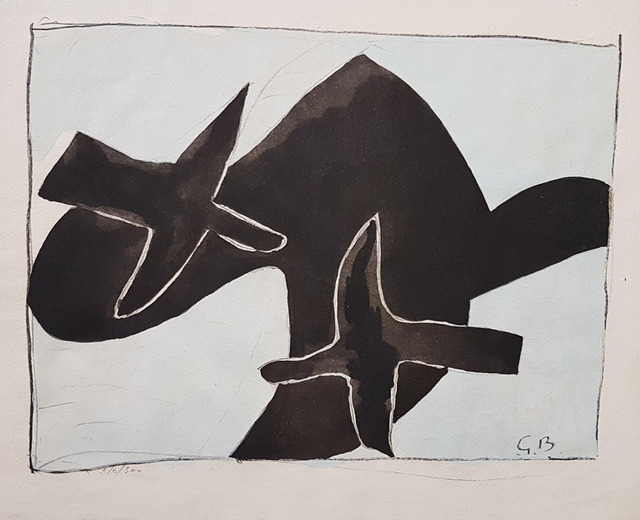 , 'The Black Birds,' 1958, Wallector