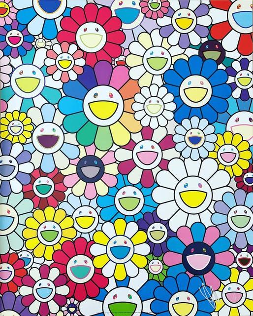Takashi Murakami, 'A Field of Flowers Seen from the Stairs of Heaven', 2019, Vogtle Contemporary