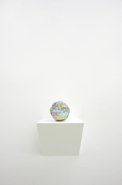 Satoshi Hirose, 'World map (self portrait)', 1991, Umberto Di Marino