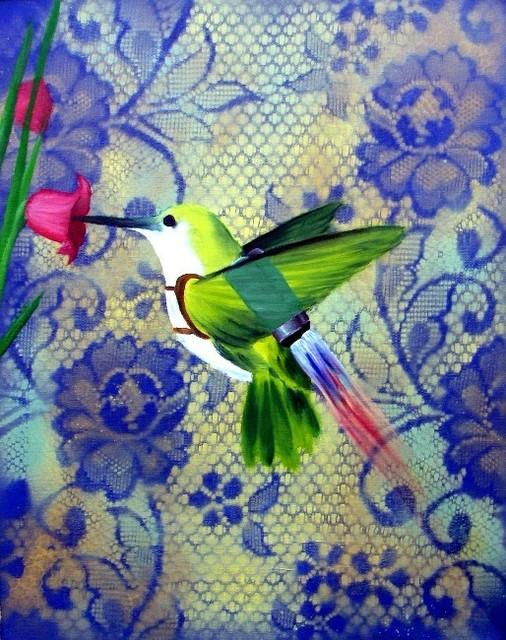 Jared Aubel, 'Hummingbird Jetpack', 2012-2019, {9} The Gallery