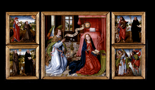 'Triptych of the Annunciation', ca. 1483, Indianapolis Museum of Art at Newfields