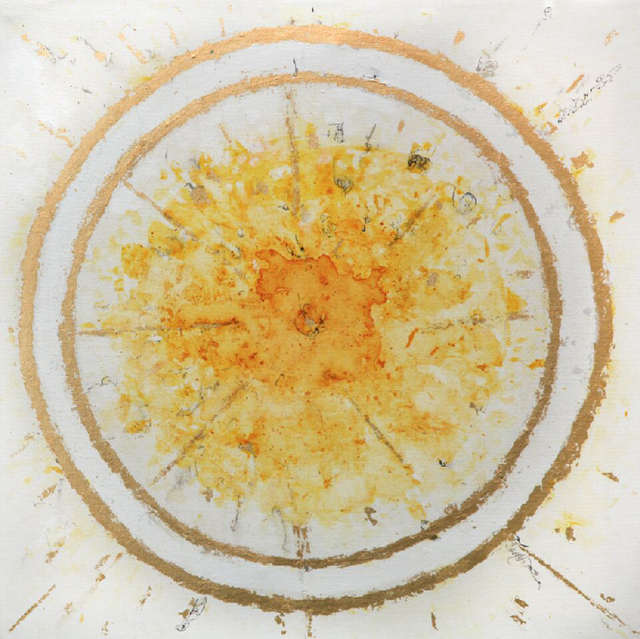 , 'Saffron Series: Saffron Sun No. 1,' 2017, Artist's Proof
