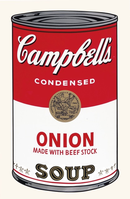 Andy Warhol, 'Campbell's Soup I: Onion', 1968, Coskun Fine Art