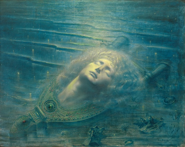 , 'The Death of Orpheus (Orphée mort),' 1893, Guggenheim Museum