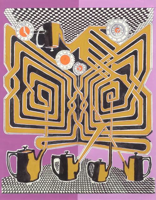 , 'La hora del te ó el te de la hora,' 2016, MAIA Contemporary