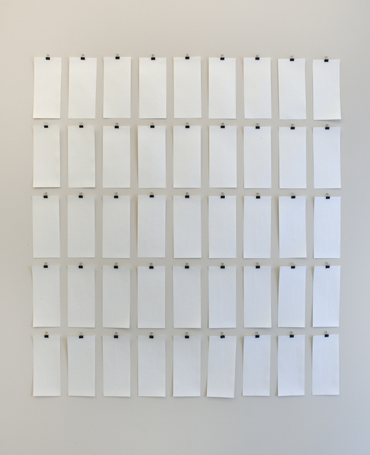 Stefan Thiel, '1023 (45 partite)', 1996, Semjon Contemporary