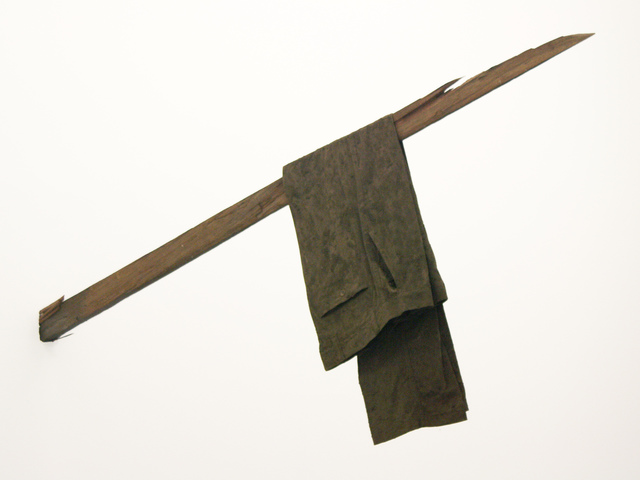 , 'Sudor-Pantalón,' 2013, Galeria Pilar