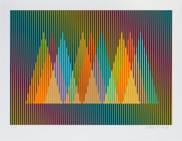 , 'Serie Cardíaca Triángulo 2,' 2015, Marion Gallery