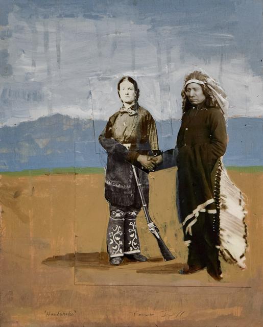 , 'Handshake,' , Robischon Gallery