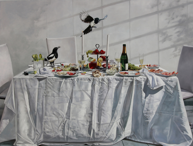 , 'Gäste,' 2018, GALERIE BENJAMIN ECK