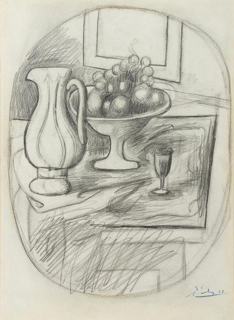 Pablo Picasso, 'Pot et compotier avec fruits', 1919, HELENE BAILLY GALLERY