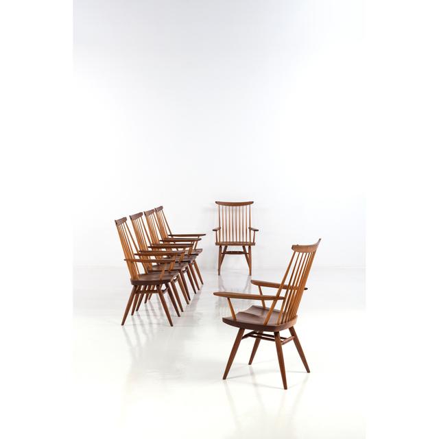 George Nakashima, 'New Chairs, Set Of Six Chairs', 1980, PIASA