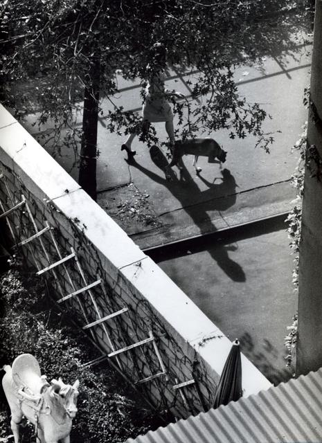 , 'New York ( Woman Walking Dog),' 1962, Bruce Silverstein Gallery