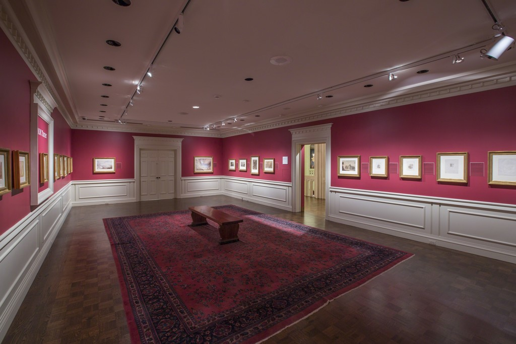 Installation view of J.M.W. Turner, April 22-August 28, 2016 at the Indianapolis Museum of Art. Courtesy of the Indianapolis Museum of Art.