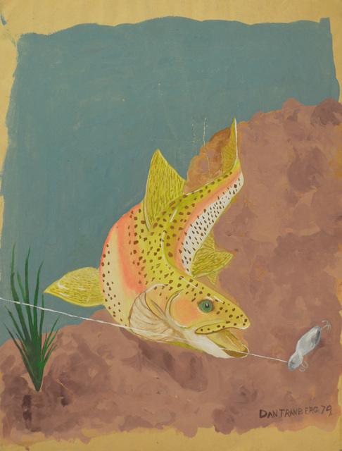 , 'Untitled - Fish Taking the Bait,' , The Bonfoey Gallery