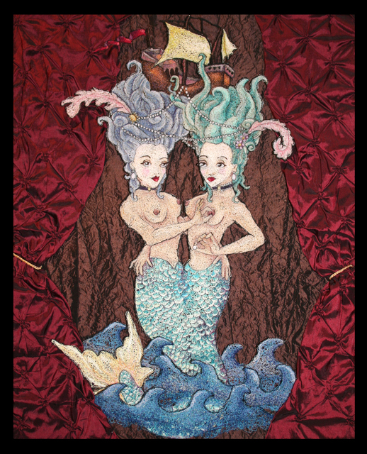, 'Fifi and Fleur, Sideshow Marvels,' 2012, LeMieux Galleries