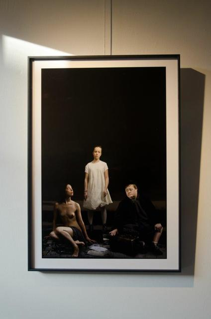 , 'Double suicide or Friedrich Nietzsche writes a love letter to Cosima Wagner,' 2016, Galerie Lilja Zakirova
