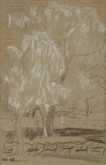 , 'Groupe d'arbres dans le jardin du Cannet,' 1940, HDM Gallery