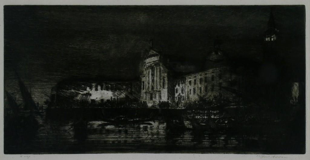 San Georgio: Nocturne, Venice