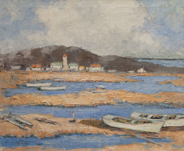 Walter Farndon, 'Dories at Low Tide', 19th -20th Century, Vose Galleries