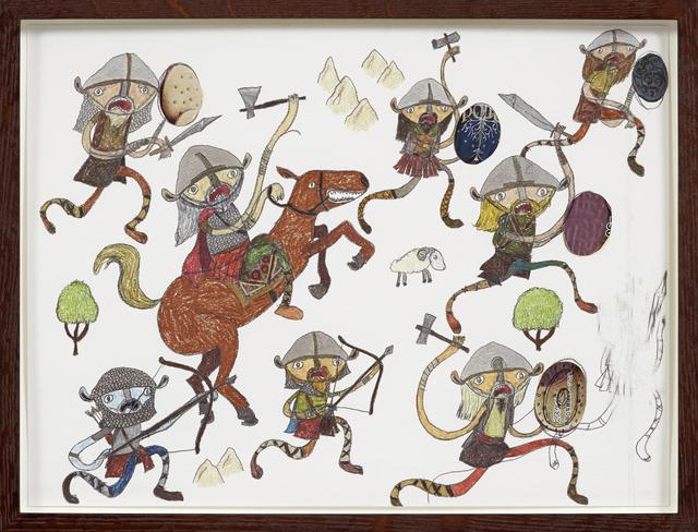 , 'Vikings,' 2013, Gerhardsen Gerner