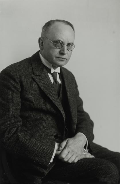 August Sander, 'Town Councillor (Social Democrat) [Johannes Meerfeld], 1928', Galerie Julian Sander