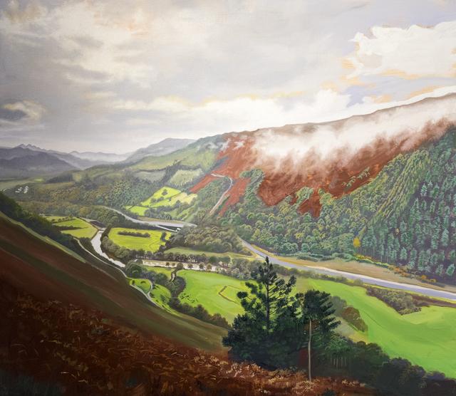 , 'Mawddach Valley,' 2018, Hans Alf Gallery