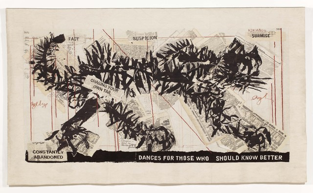 William Kentridge, 'Chasing your own Tail III,' 2012, Goodman Gallery