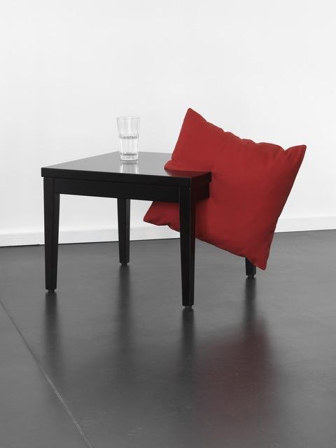 , 'Pillow Table,' 2013, Anne Mosseri-Marlio Galerie