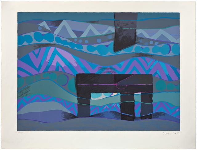 , 'Mar de Lurin III,' 1989, Praxis Prints