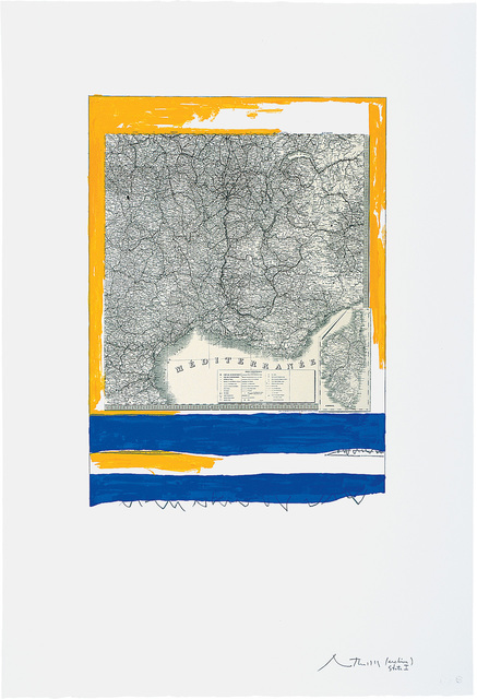, 'Mediterranean, State I White,' 1975, Bernard Jacobson Gallery