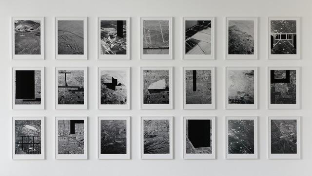 , 'Mammoth: Aerial Landscape Proposals,' 2012, Nature Morte