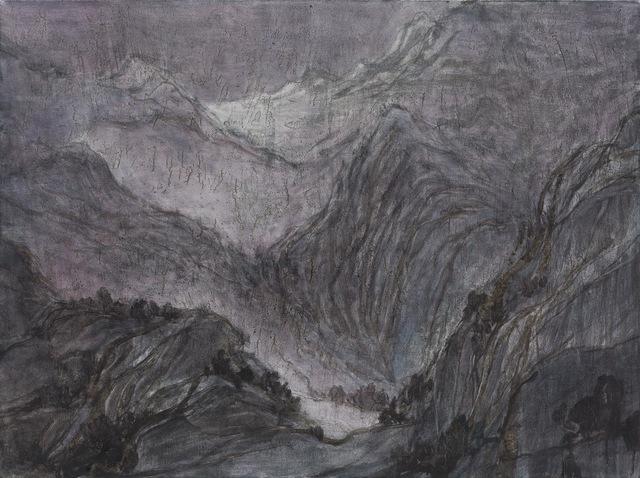 , '千山暮雪 Mountains Coverd with Snow,' 2015, Nuoart