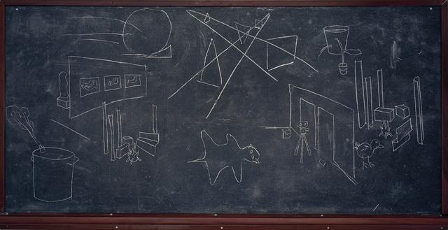 , 'Third Man Sketches,' 2013, Sies + Höke