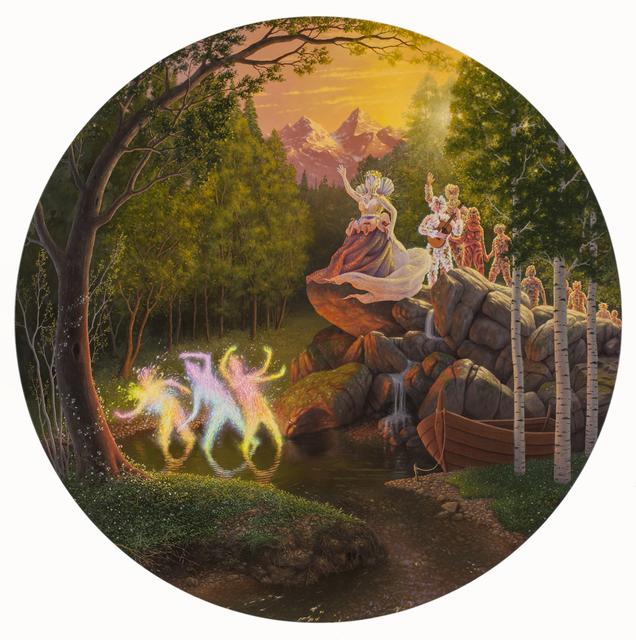 , 'Healer Unveiled,' , Corey Helford Gallery