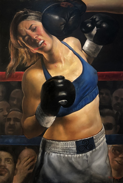 , 'Knock Out,' 2018, Gallery Victor Armendariz