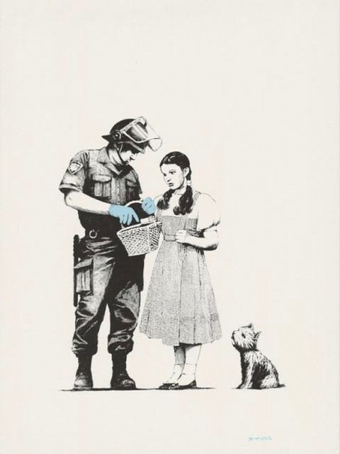 Banksy, 'Stop and Search', 2007, Canvas Gallery