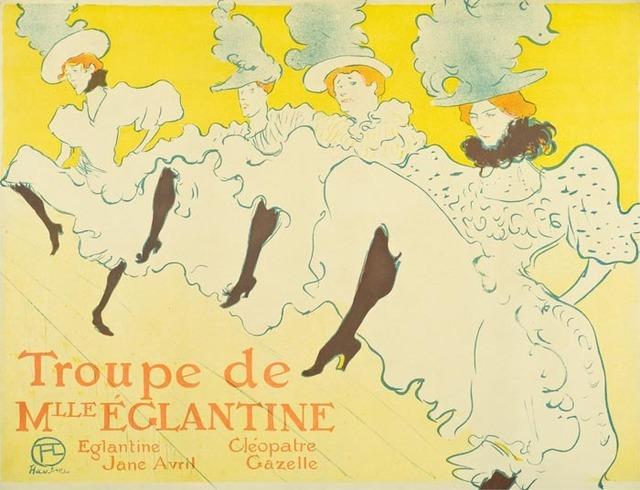 , 'La Troupe de Mademoiselle Eglantine,' 1896, Galerie d'Orsay